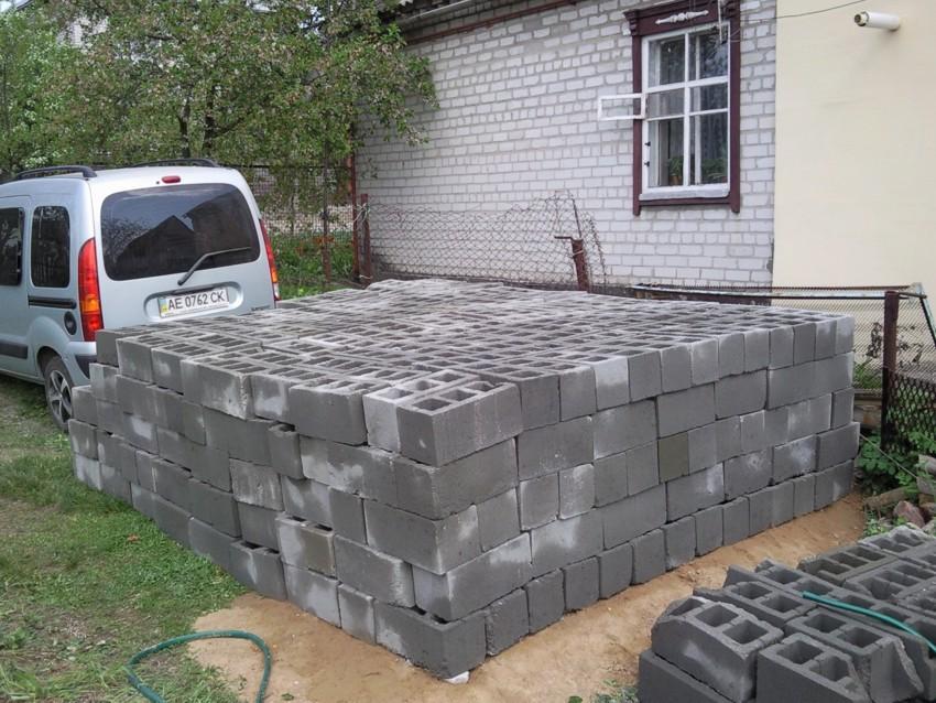 Завоз блоков