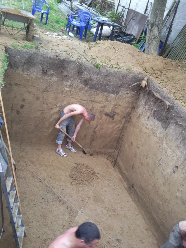 Как выкопать погреб своими руками 7