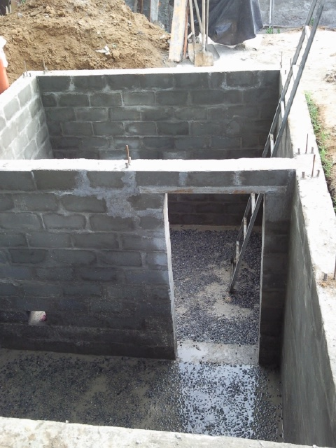 Как построить сарай с погребом своими руками
