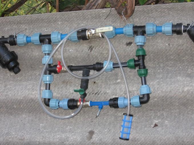 Рамка с инжекторами
