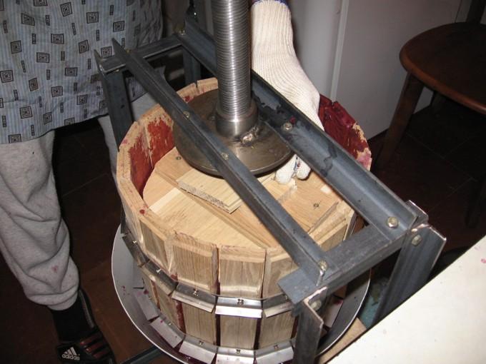 Виноградный пресс 2