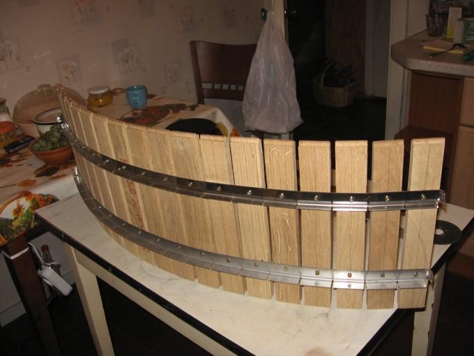Корзина виноградного пресса 1